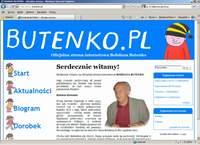 Bohdan Butenko doczekał się swojej WWW