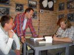 Spotkanie z Rafałem Dębskim w Muzeum Hansa Klossa