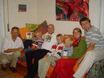 Andrzej TV, Piotruś, Ignaś, ja, Tadzio, Grzesiu, Joanna, Andrzej