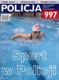 Okładka miesięcznika POLICJA 997 - czerwiec 2009