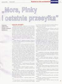Strona 47 miesięcznika POLICJA 997 - czerwiec 2009