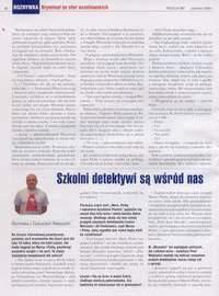 Strona 48 miesięcznika POLICJA 997 - czerwiec 2009