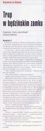 Fragment strony 48 miesięcznika POLICJA 997 - sierpień 2009