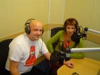 W studiu Radia Katowice
