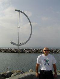 Nad brzegiem Jeziora Genewskiego (Lemańskiego) w Lozannie