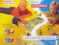Opakowanie gry Scrabble Junior