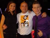 Z Agnieszką i Arturem w TVS